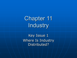 Chapter 11 Industry