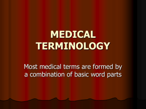 Med Term Abbreviations ppt