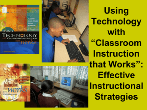 Classroom_Instruction_that_Works_Session_1 - Oak-Grove-Tech