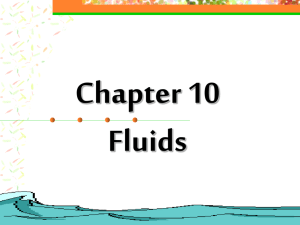 Fluids AP - Conroe High School