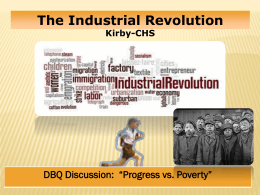 """Progress vs. Poverty"" Discussion Format"