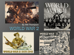 World war 2 - Beverley Grammar School
