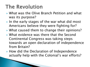 IB History The Revolution 2010
