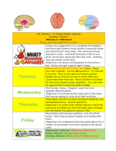 agenda 6th grade week 3 Feb 4