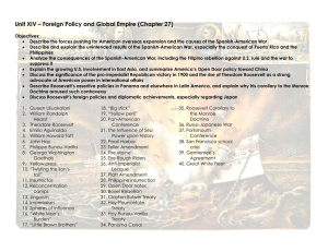 Unit XIV – Foreign Policy and Global Empire (Chapter 27)