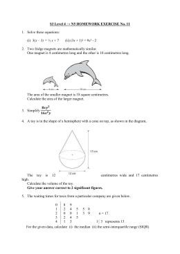level 4 homework