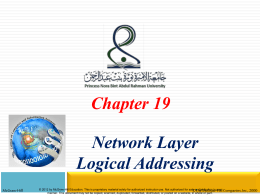 Classful Addressing - NET 331 and net 221