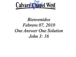your love is amazing - Calvary Chapel West