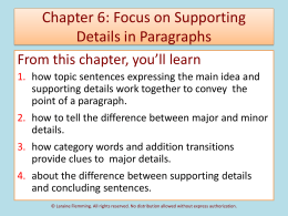 Chapter 6 PowerPoint Lecture