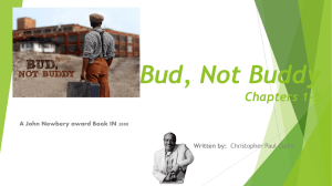 Bud, Not Buddy - Cloudfront.net