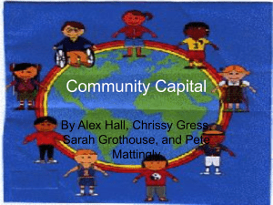 Community Capital - Cathedral High School
