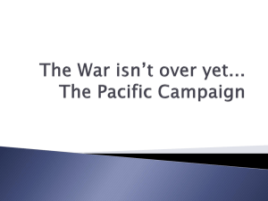 January 21, 2013 - Pacific Campaign 2 / Microsoft PowerPoint