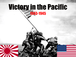 US Island Hopping to Victory in the Pacific