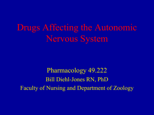 Lecture 1: Introduction to Pharmacology