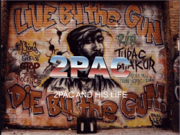 an analysis of the history of tupac and the outlawz We started to mix one night, and puff said, 'where is the rest of the track  not  least, by tupac himself, who didn't exactly love the timing of.