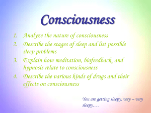 chapter 5 Consciousness ppt