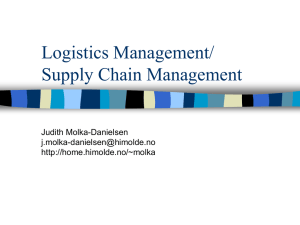 Logistics Management/ Supply Chain Management