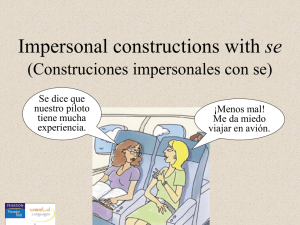 CH08_4. Impersonal constructions with se