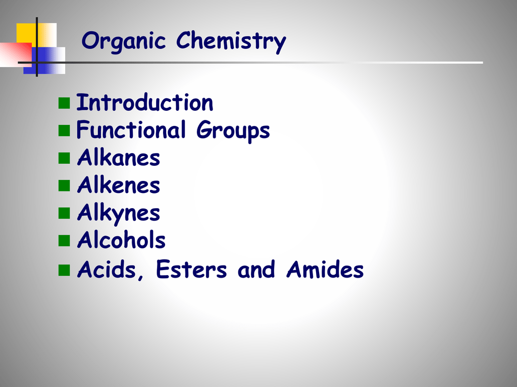Ppt Lec 07 Functional Groups Summer 2015