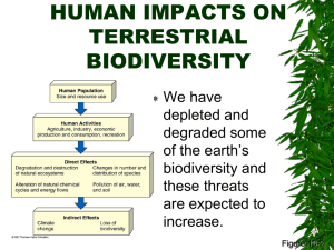 biodiversity & endangered species