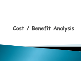 10.cost n benefit - CSE Notes and Papers