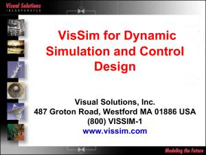 VisSim/Embedded Controls Developer for TI C2000