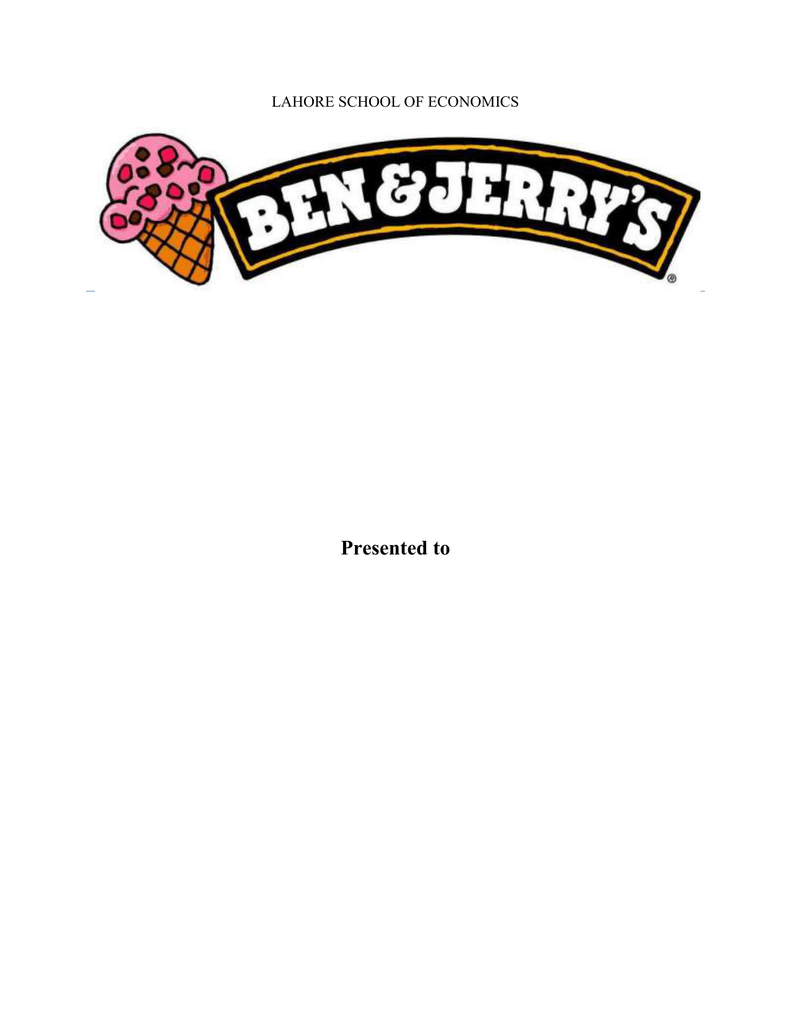 ben and jerrys psychographic segmentation
