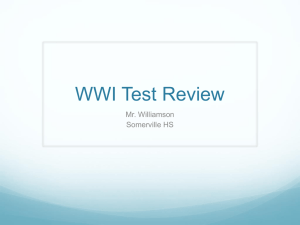 World History – Renaissance/Reformation Test Review