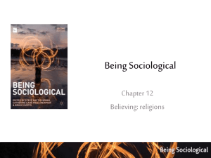 Chapter 12- Believing Chapter 12 Powerpoint