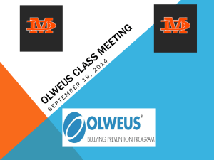 Olweus Class Meeting