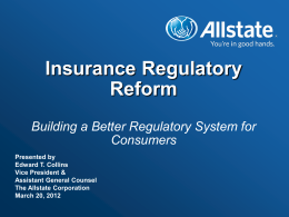Dodd-Frank Act Provisions Impacting Insurance Business (cont.)