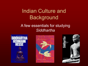 Indian Culture, Hinduism, and Buddhism