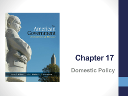 American government study guide chapter 5