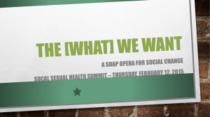 The [WHAT] WE WANT - LA Trust for Children's Health
