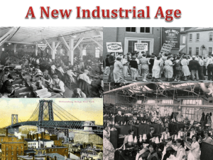 New Industrial Age