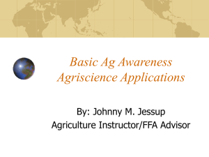 Basic Ag Awareness