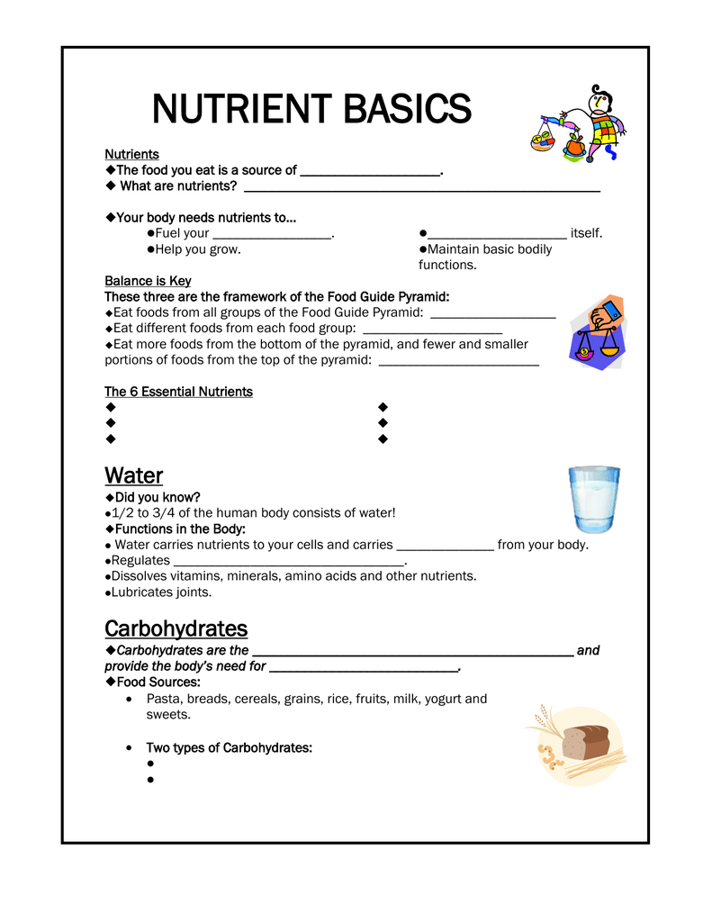 Nutrient Basics