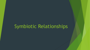 Symbiosis -- ppt (ntbk entry)