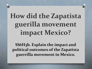 Zapatista Movement ppt