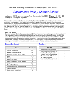 2010-11 SARC Template - SARC (CA Dept of Education)