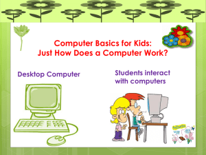PowerPoint Presentation - Computer Basics for Kids