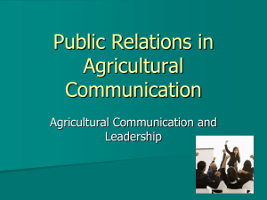 Public Relations - Timpanogos Welding and Agriculture Program