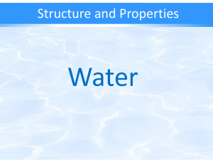 Water - TeacherWeb