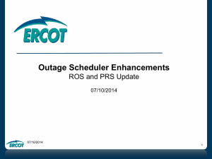 05. 20140710 Outage Scheduler Enhancements