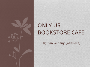 Only us Bookstore Cafe
