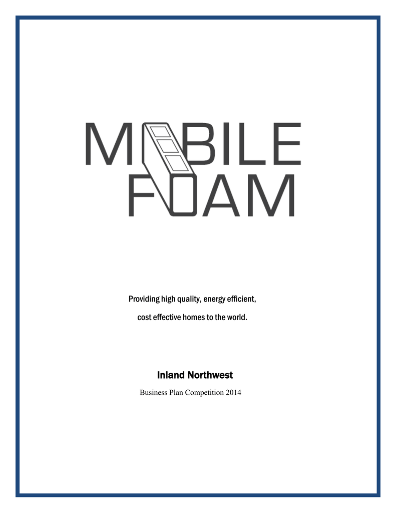 foam concrete business plan