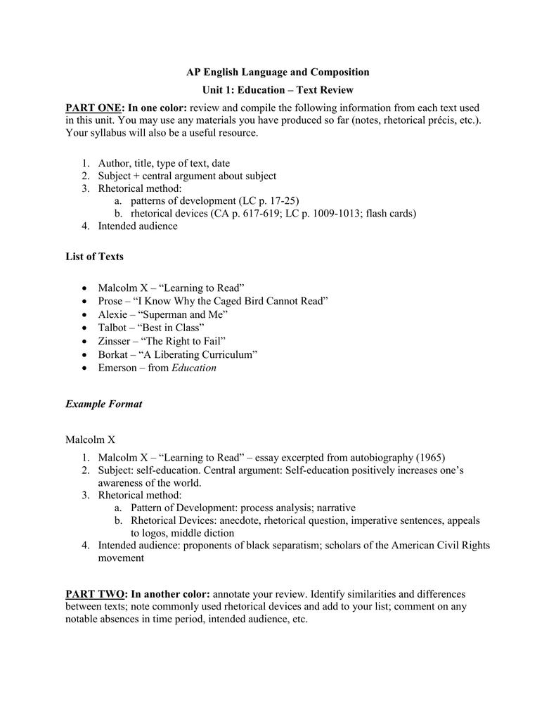 unit text review