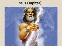 Mythology Lesson 3_Jupiter (Zeus)