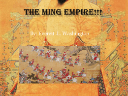 The Ming Empir
