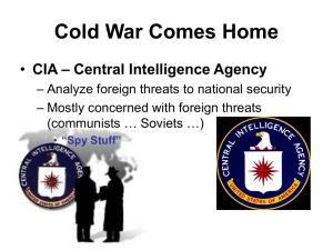 Cold War HOME